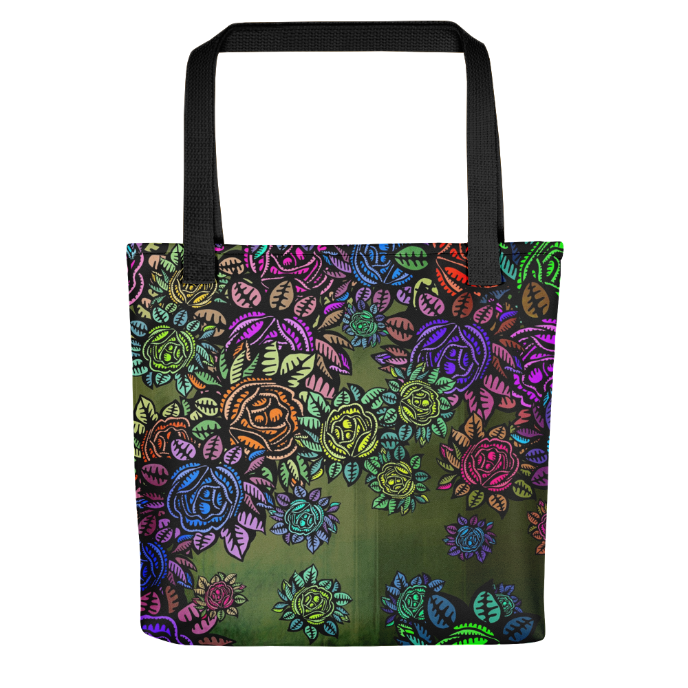 Brighter Days Floral Tote Bag