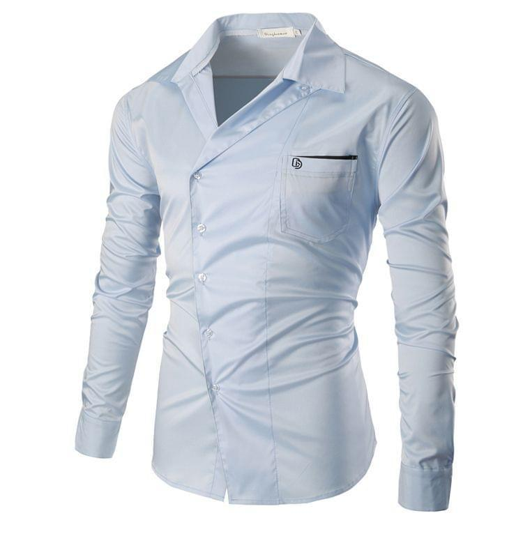 Combo Of 3 New Branded Clothing With Long Sleeves Casual Mono phonic Shirts For Men