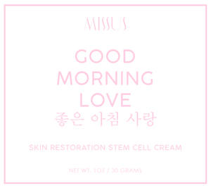 Good Morning Love - Stem Cell Restoration Cream