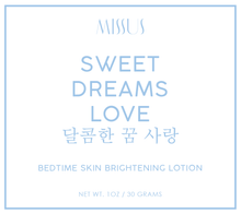 Load image into Gallery viewer, Sweet Dreams Love - Skin Whitening Lotion