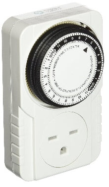 240Volt 24 Hour Grounded Timer