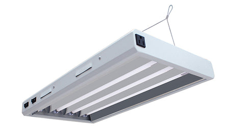2FT 4 Bulb T5 HO Fluorescent Light Fixture - LumaGro
