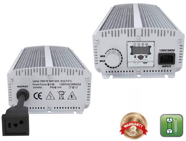 Smart ElectronicBallast 1000W (no fan ) - LumaGro