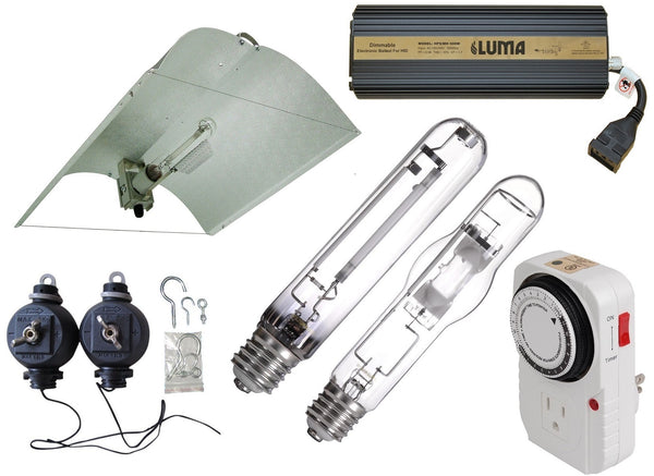 600W Adjust-A-Wing Reflector - LumaGro