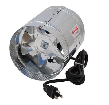"8"" Duct Booster Fan - LumaGro"