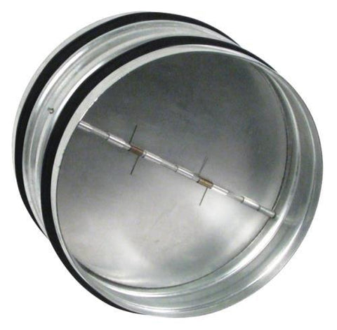 "Backdraft Damper 6"" - LumaGro"