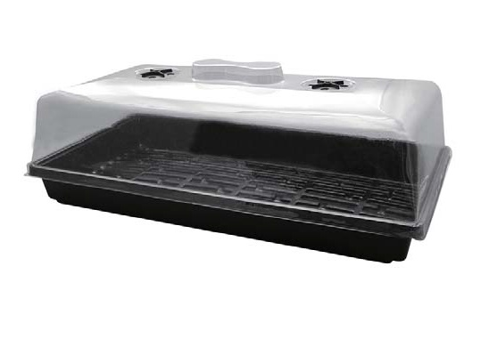 "High dome propagator 21.3"" x 11"" x 10"" - LumaGro"