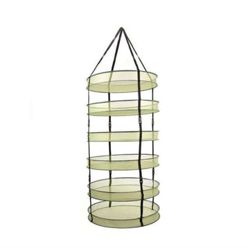 "24"" Diameter 6 Tier Medium Drying Rack"