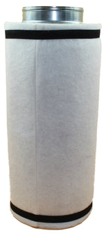 "6"" Inline Preactivated Carbon Filter - LumaGro"