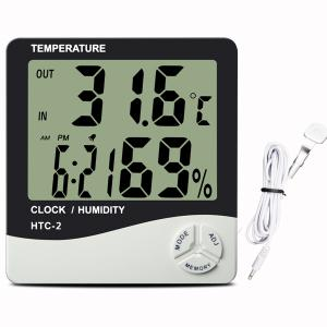 Large Display Thermo.Hygrometer - LumaGro