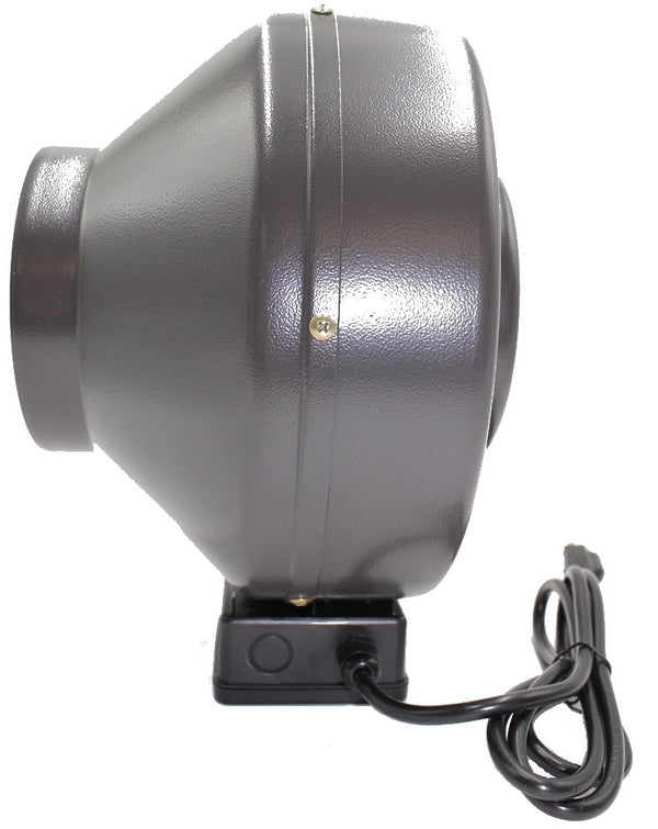 "8"" Inline Fan, Filter, and Duct Package - LumaGro"