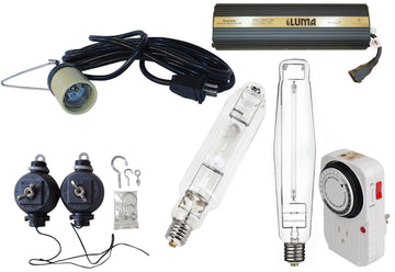 1000W Lamp Cord With Socket Grow Light Kit with EnergyStation Ballast