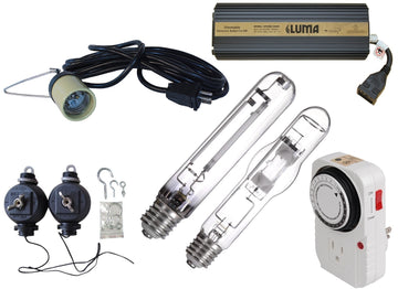 600W Lamp Cord With Socket Grow Light Kit