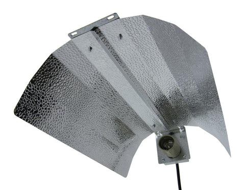 Econo-Wing/Bat-Wing Reflector with Lamp Cord and Socket - LumaGro