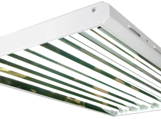 4FT 8 Bulb T5 HO Fluorescent Grow Light - LumaGro