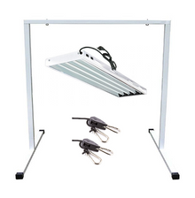 T5 HO Fluorescent Light Fixture with Stand