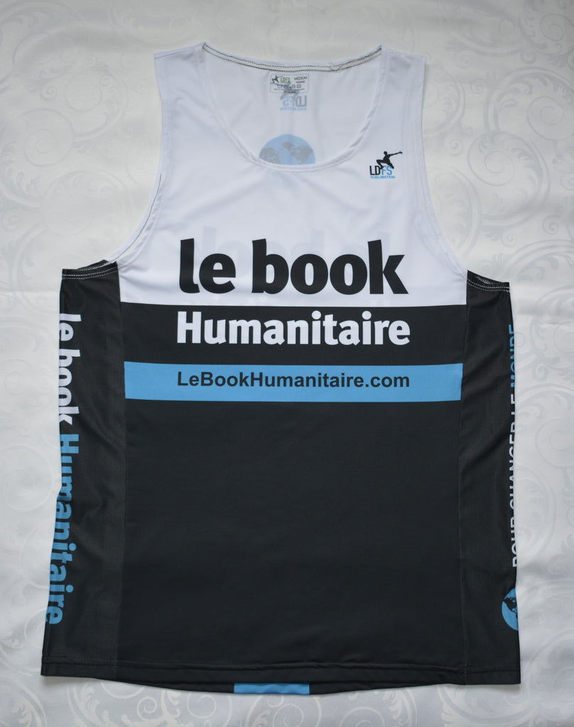Camisole sportive Le book Humanitaire