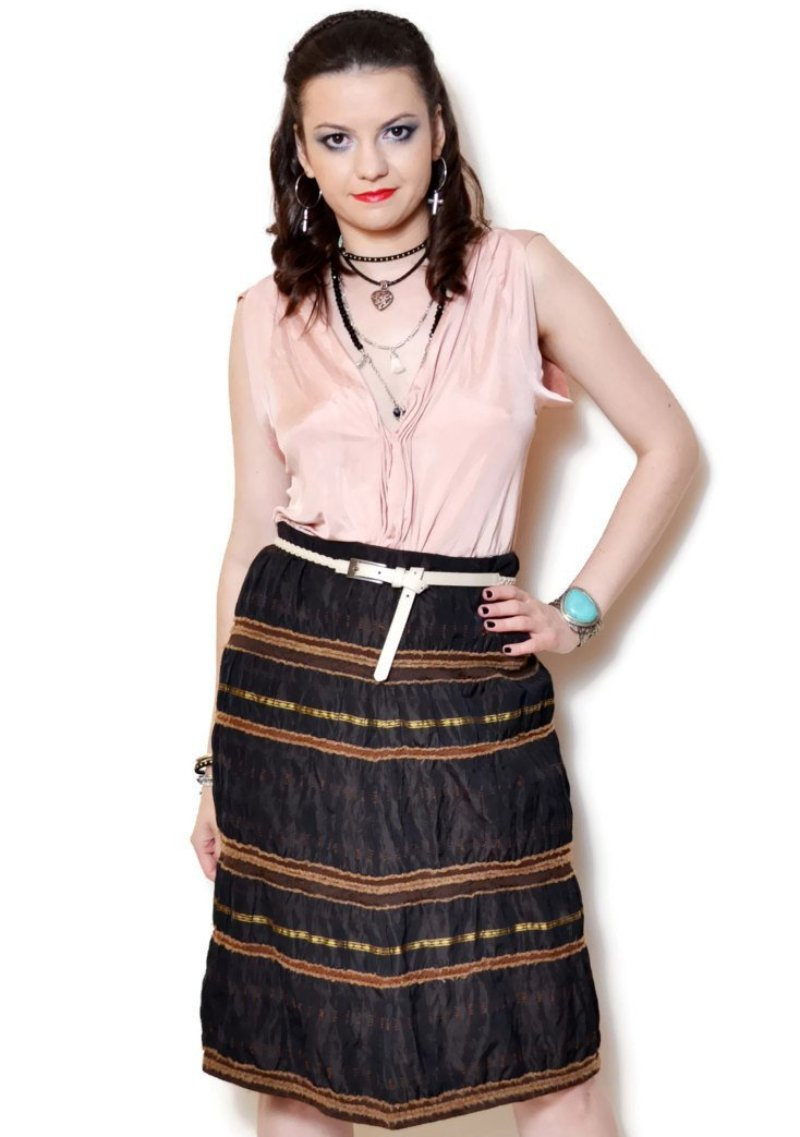 boho skirt - Vintage Clothes
