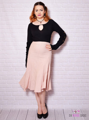 high waisted skirt - Vintage Clothes