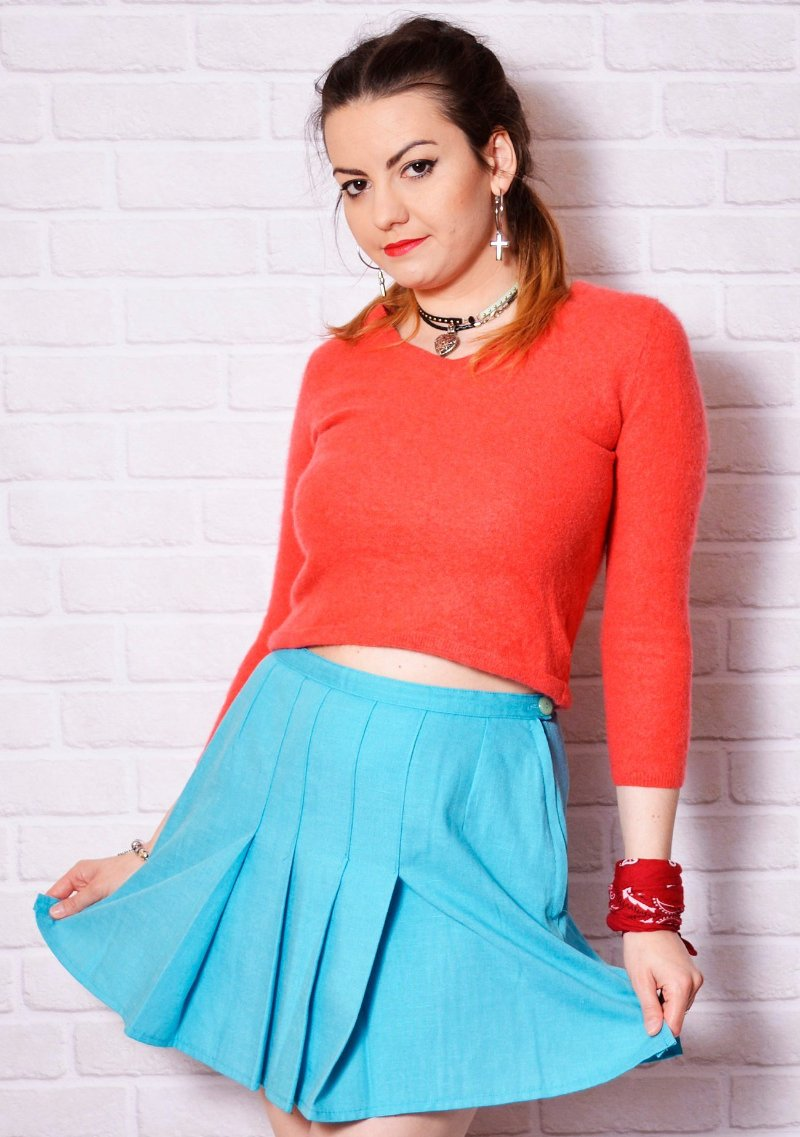 pleated Skirts - Vintage Clothes