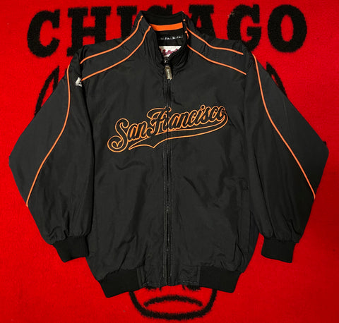 "VINTAGE SAN FRANCISCO GIANTS WINDBREAKER ""TOUGH AS NAILS"""