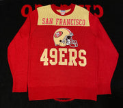 "SAN FRANCISCO 49ERS L/S SWEATER "" KNITTED"""