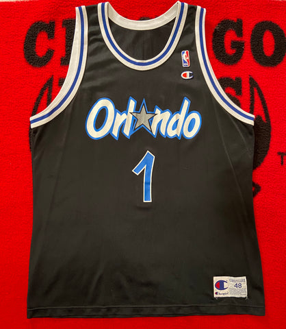 "VINTAGE ORLANDO MAGIC PENNY HARDAWAY JERSEY ""1CENT"""
