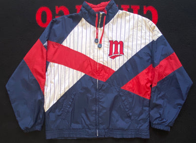 "VINTAGE MINNESOTA TWINS FULL ZIP JACKET ""TWIN SISTERS"""