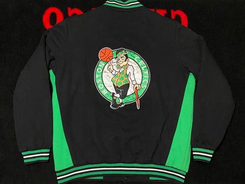 "VINTAGE REVERSIBLE JEFF HAMILTON JACKET ""BOSTON CELTICS"""
