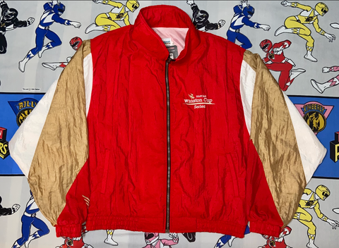 "Vintage Winston Cup Windbreaker ""Go For Gold"""