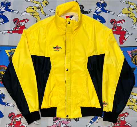 "Vintage Pennzoil Racing Windbreaker ""Straight Gas"""