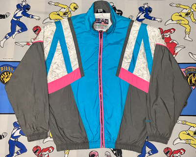 "VINTAGE HEAD SPORTSWEAR SKI WINDBREAKER ""TAHOE JOE"""