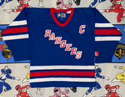 "VINTAGE RANGERS HOCKEY JERSEY ""MESSIER"""