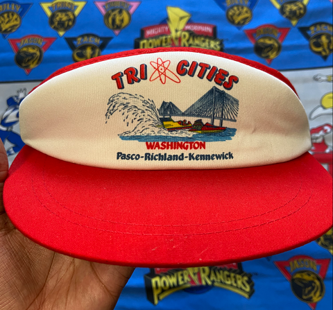 "VINTAGE TRI CITIES VISOR ""WASHINGTON ATOM"""