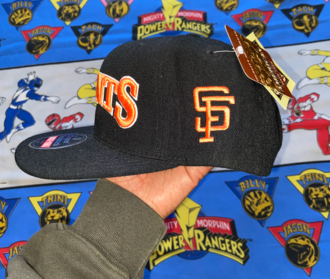 "VINTAGE SAN FRANCISCO GIANTS SNAPBACK ""BIG BOLD"""