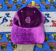 "VELOUR ANTI SOCIAL CLUB HAT ""DEMON TIME"""