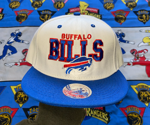 "VINTAGE BUFFALO BILLS SNAPBACK ""PLAYOFF BOUND"""