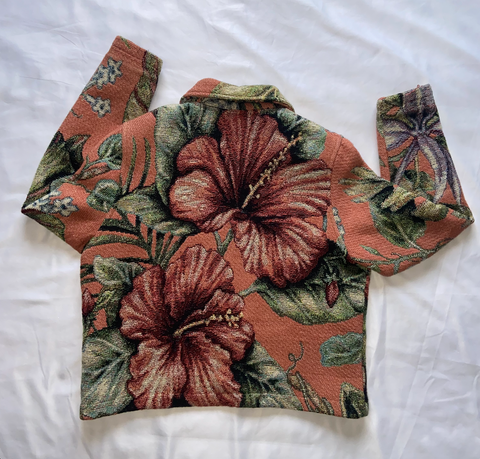 "Hawaiian Floral Blazer ""Sweet Thang"""