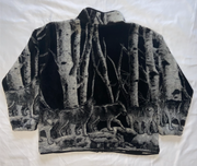 "Wolves AOP Fleece Jacket ""Predator"""