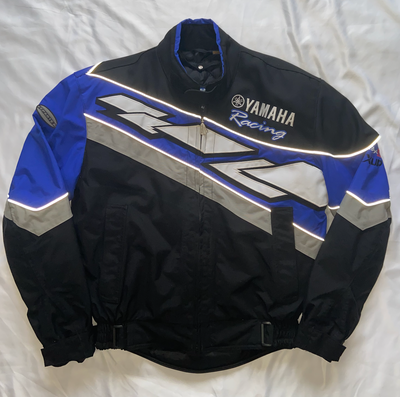 "Yamaha Racing Motorcycle Jacket ""Jagged Edge"""