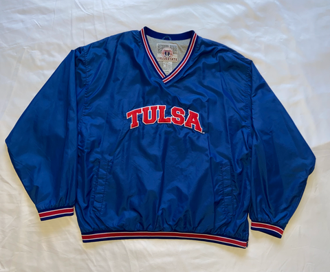 "Tulsa University Pullover Windbreaker ""Captain Cane"""