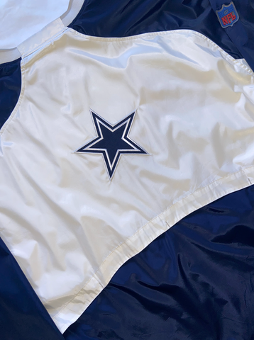 "Dallas Cowboys Pullover Windbreaker ""Jerry's World"""