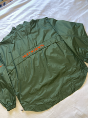 "Miami Hurricanes Quarter Zip Windbreaker ""Canes"""