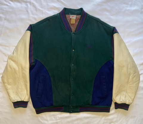 "90'S Speedo Letterman Jacket ""Speed Kills"""