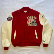 "San Francisco 49ers Letterman Jacket ""Perfection"""