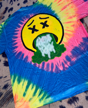 "Travis Scott Tie Dye tee ""Sicko Mode"""