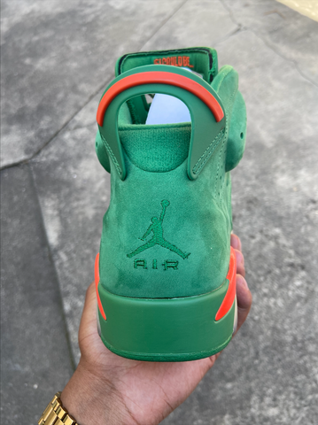 "Jordan 6 ""Gatorade Green"""