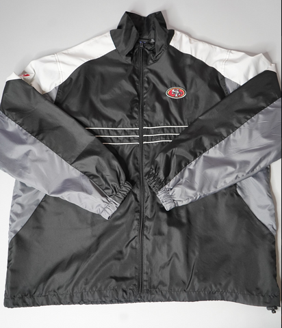 "VINTAGE NFL WINDBREAKER ""SF 49ERS"""