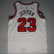 Nike Men's Chicago Bulls Michael Jordan #23 White Dri-FIT Swingman Jersey