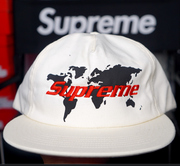 "SUPREME 5 PANEL HAT ""SUPREME WORLD"""
